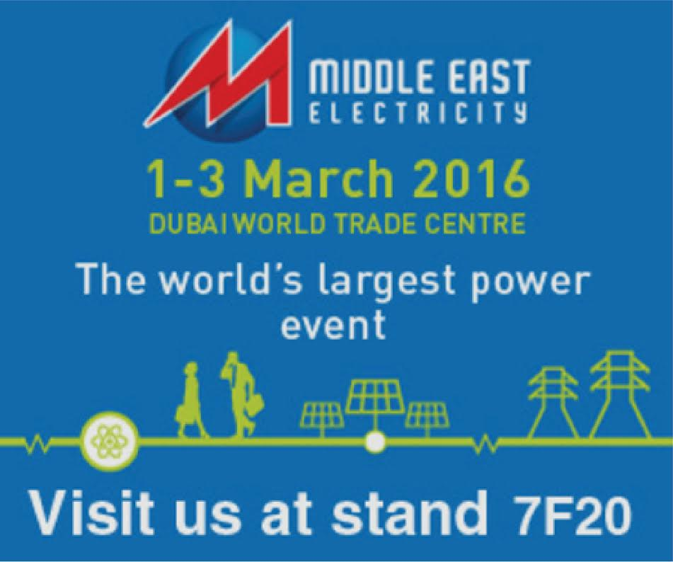 MIDDLE EAST ELECTRICITY(MEE) / 2016,1-3 Mart /Dubai