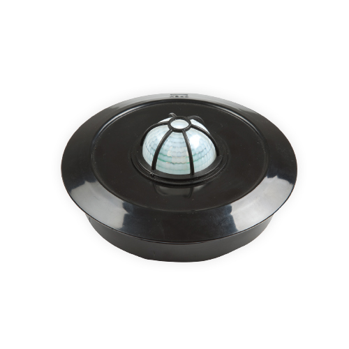 360˚ Ceiling Type Digital Motion Sensor Black