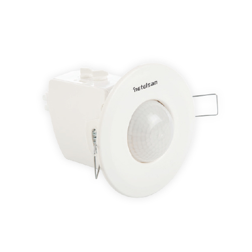 360º Digital Flus-Mounted Ceiling Type Motion Trio Sensor Classic